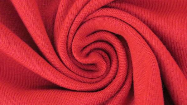Stoffe/Basics/Sweat Uni/Summersweat, rot Bild 1