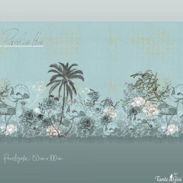Fabrics/Designers/Tante Gisi/Paradies blue Bild 1