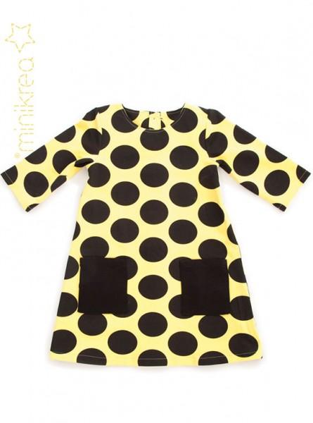 Schnittmuster/MiniKrea/SM50010- Schnittmuster/Pattern A-Linien Kleid/A-Line Dress Bild 1