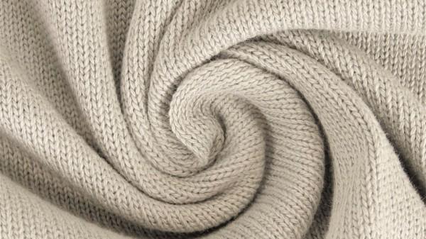 Stoffe/Basics/Strick Uni/Baumwollstrick, hellbeige Bild 1