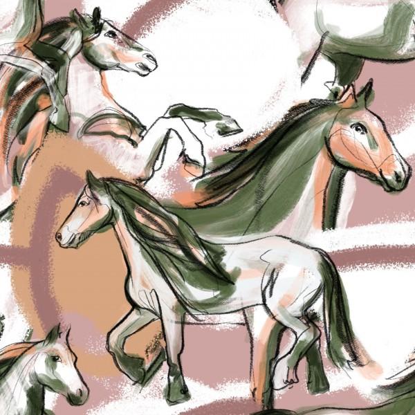 Fabrics/Designers/Enemenemeins/Josefines Pferde Bild 1