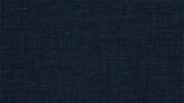 Fabrics/Basics/Solid Linnen/Leinen, marine, washed Bild 1