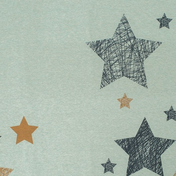 Fabrics/Designers/SUSAlabim/Kritzelsterne meliert Bild 1