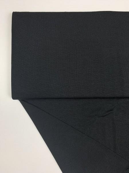 Fabrics/Basics/Solid Modal/Modaljersey, schwarz Bild 1
