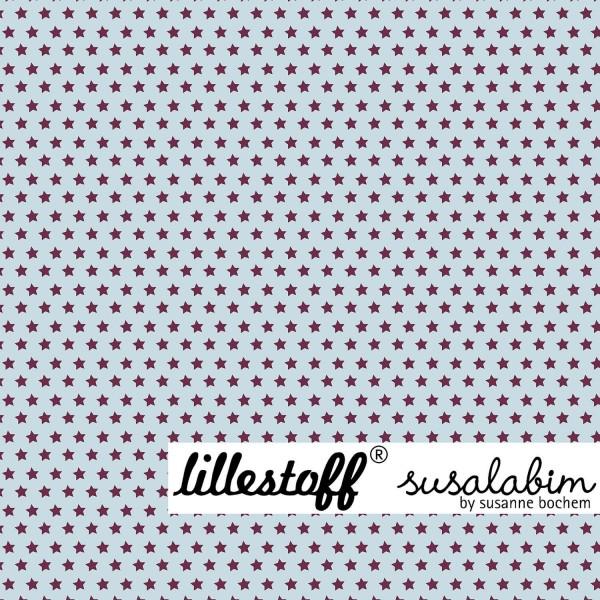 Stoffe/Designer/SUSAlabim/blau-braun, Susalabims Basicsternchen Bild 1