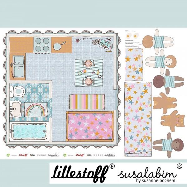 Fabrics/Designers/SUSAlabim/Spieldecke Puppenstube Bild 1
