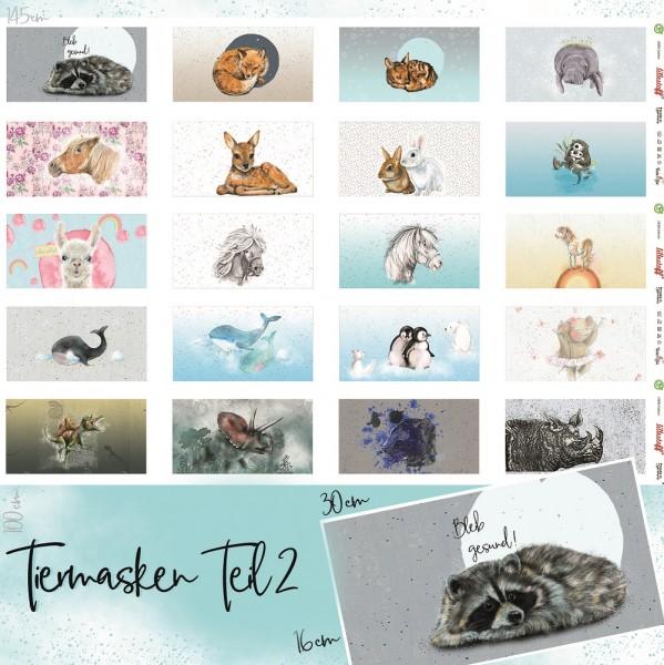 Stoffe/Designer/Tante Gisi/Tiermasken Teil 2 Bild 1