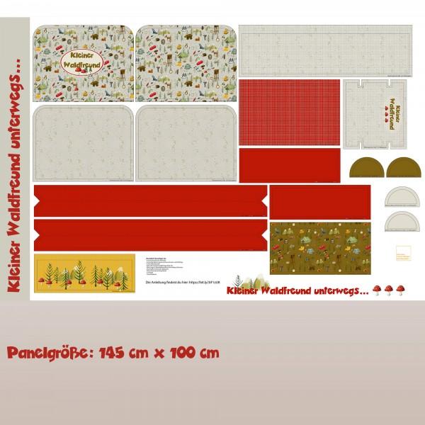 Fabrics/Designers/Tante Gisi/Kleiner Waldfreund Unterwegs Rucksack Bild 1