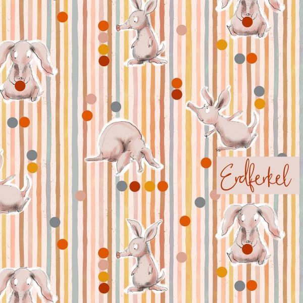Fabrics/Designers/Tante Gisi/Erdferkel Bild 1
