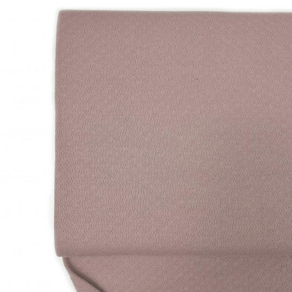 Fabrics/Basics/Solid Jacquard/Jacquardjersey, altrosé Bild 1
