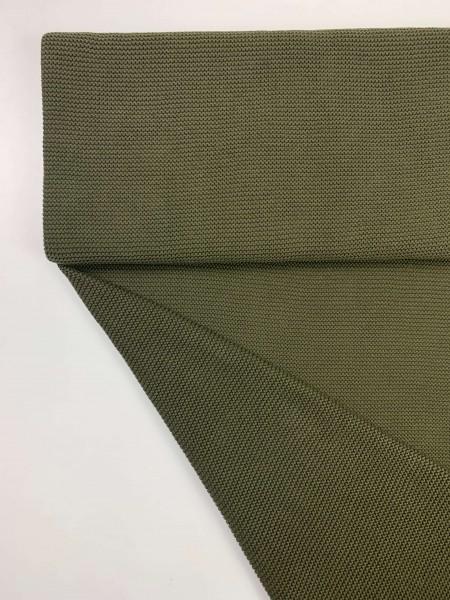 Fabrics/Basics/Solid Knit/Linksstrick, olive Bild 1