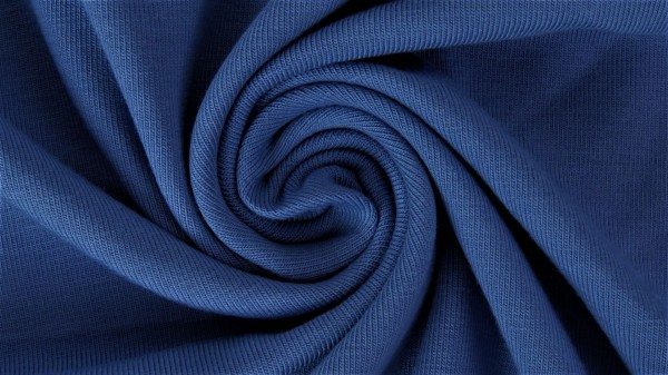 Stoffe/Basics/Summersweat, jeansblau dunkel Bild 1