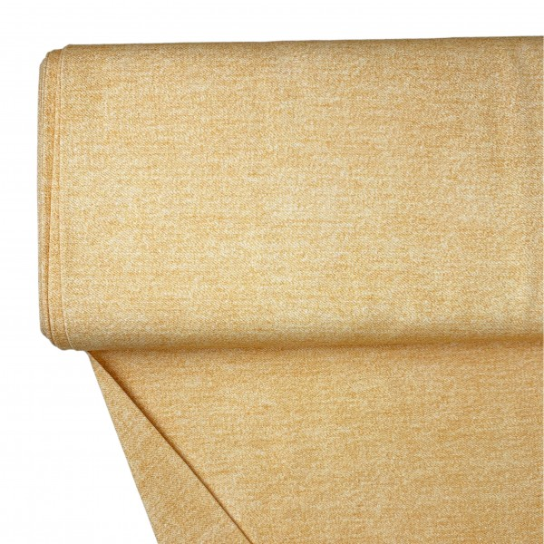 Fabrics/Basics/Solid Sweat/Jeansoptik Summersweat, ockergelb Bild 1