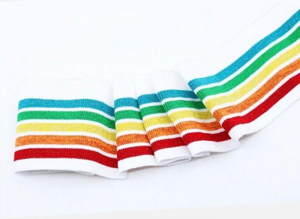 Retrostripes mit Glam Cuffs - Regenbogen.jpg