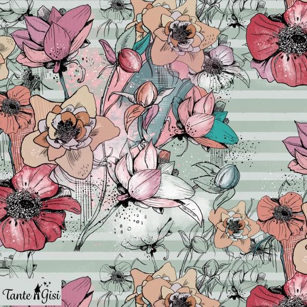 Fabrics/Designers/Tante Gisi/Blumenstrauß Bild 1
