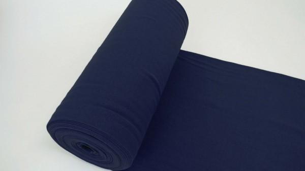 Fabrics/Basics/Solid Cuffs/Schlauchbd., marine Bild 1