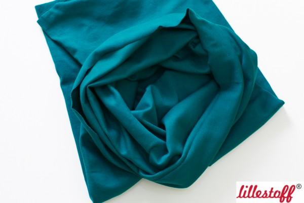 Fabrics/Basics/Solid Cuffs/Schlauchbd., petrolgrün, glatt Bild 1