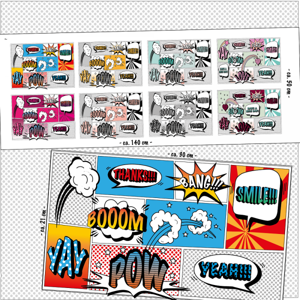 Sale/Reduzierte Artikel/Comicmasken Bild 1