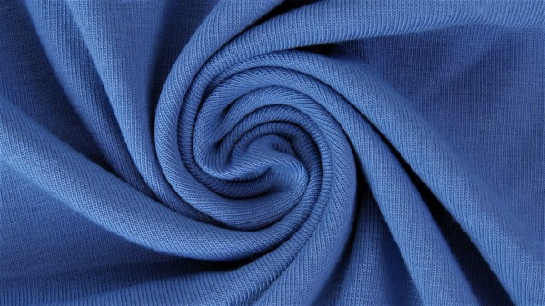 Fabrics/Basics/Solid Jersey/Uni Jersey, dunkelblau Bild 1