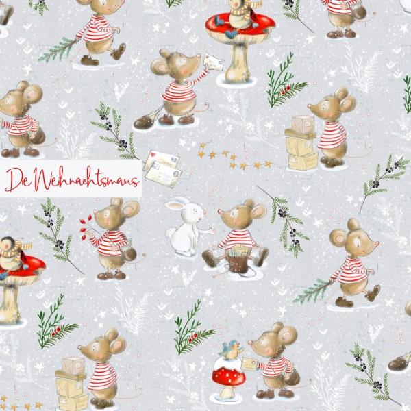 Fabrics/Designers/Tante Gisi/Die Weihnachtsmaus Bild 1