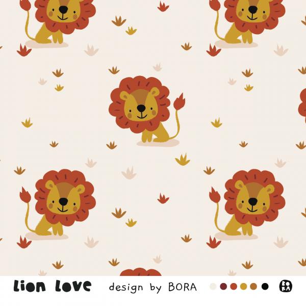 Stoffe/Designer/BORA/Lion Love Bild 1
