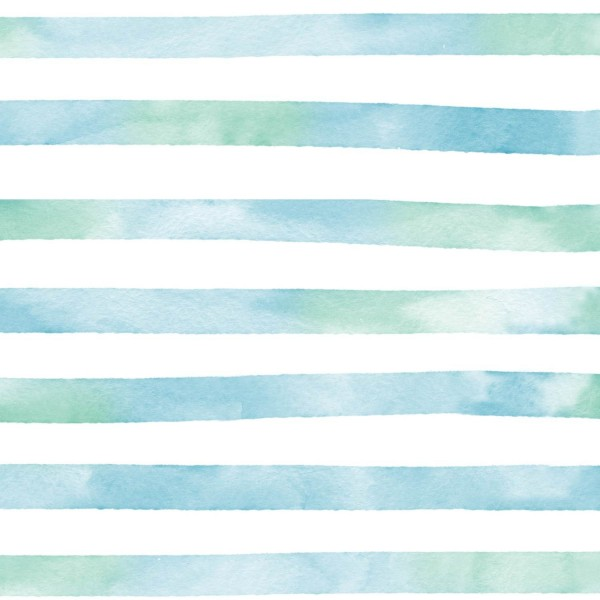 Fabrics/Graphics/Aquarellringel, blaugrün Bild 1