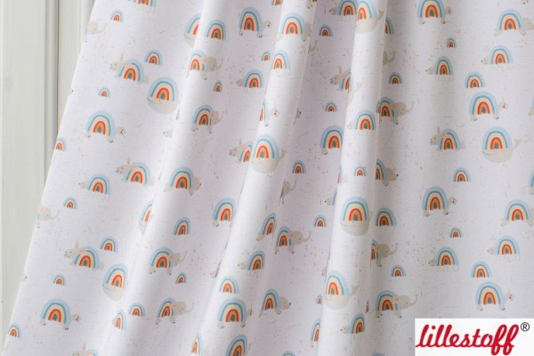 Fabrics/Designers/Tante Gisi/Regenbogentiere Bild 1