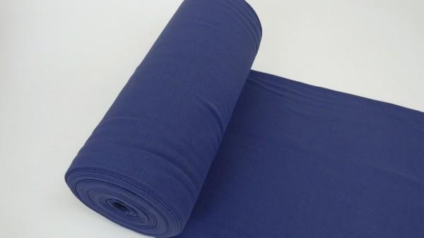 Stoffe/Basics/Schlauchbd., jeansblau dunkel Bild 1