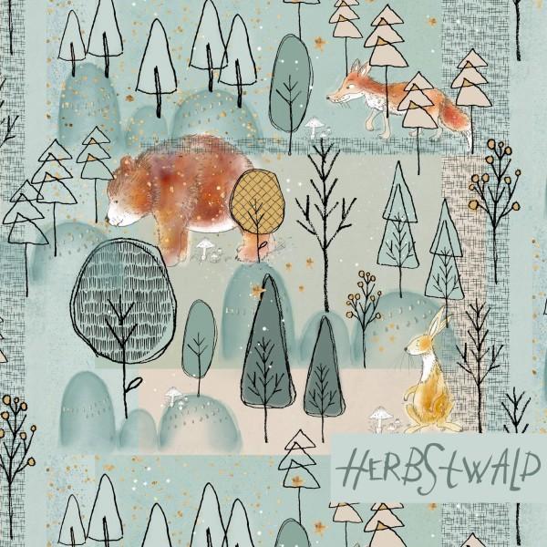 Fabrics/Designers/Tante Gisi/Herbstwald Bild 1