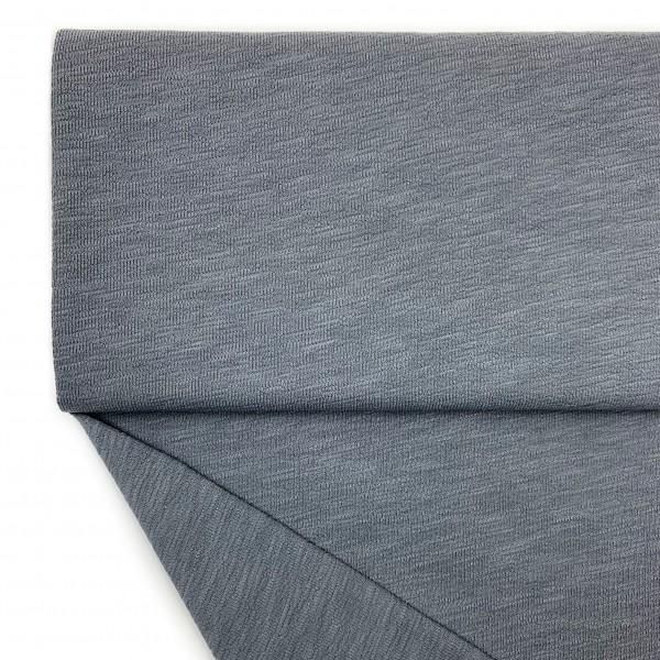 Fabrics/Basics/Solid Slub/leichter Slub French Terry, grau Bild 1