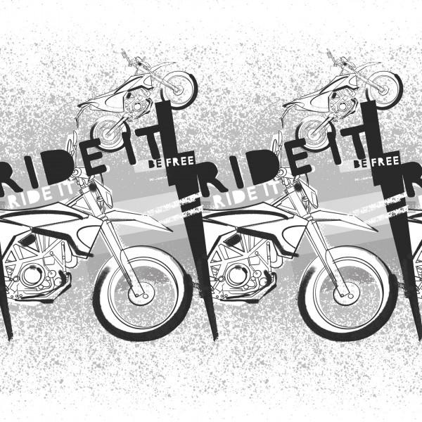 Stoffe/Fahrzeuge/Ride It Bild 1