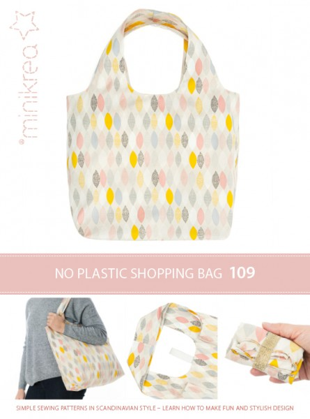 Schnittmuster/MiniKrea/SM109- Anleitung/Instruction Einkaufstasche/Shopping Bag Bild 1