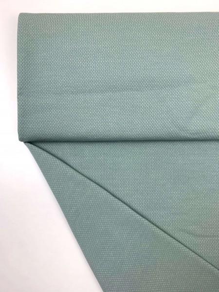 Fabrics/Basics/Solid Jacquard/Jacquardsweat, altgrün dunkel Bild 1