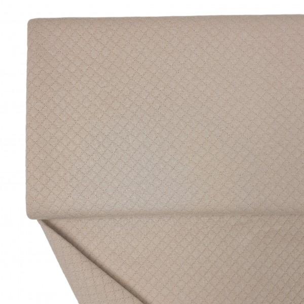 Stoffe/Basics/Stepper Uni/Leichter Baumwollstepper, beige Bild 1