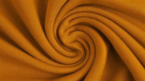Fabrics/Basics/Solid Modal/Modalsweat, ockergelb Bild 1