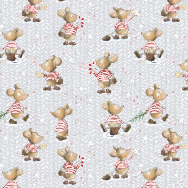 Stoffe/Figuren/7 Kleine Mäuse Bild 1