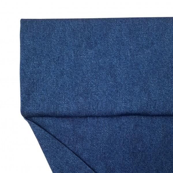 Fabrics/Basics/Solid Jersey/Jeansoptik Jersey, jeansblau dunkel Bild 1