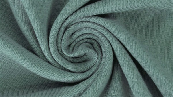 Fabrics/Basics/Solid Sweat/Summersweat Brushed, altgrün dunkel Bild 1
