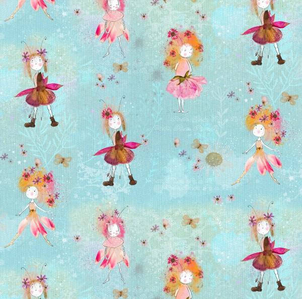 Fabrics/Designers/Tante Gisi/Blumenwesen Bild 1