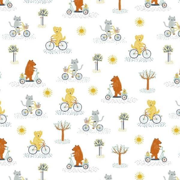 Fabrics/Animals/Bike Ride Bild 1