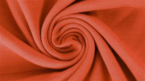 Fabrics/Basics/Solid Jersey/Uni Jersey, dunkelorange Bild 1