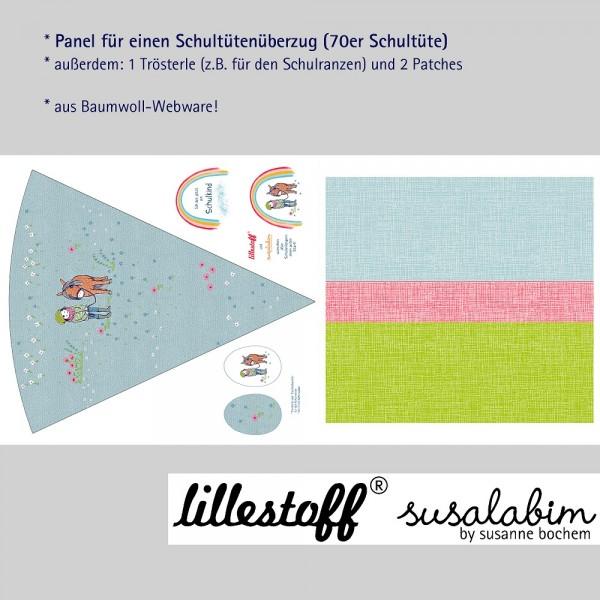 Fabrics/Designers/SUSAlabim/Schultütenset Ponyliebe Bild 1