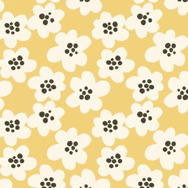 Stoffe/Designer/Enemenemeins/Streublumen BIG, gelb Bild 1
