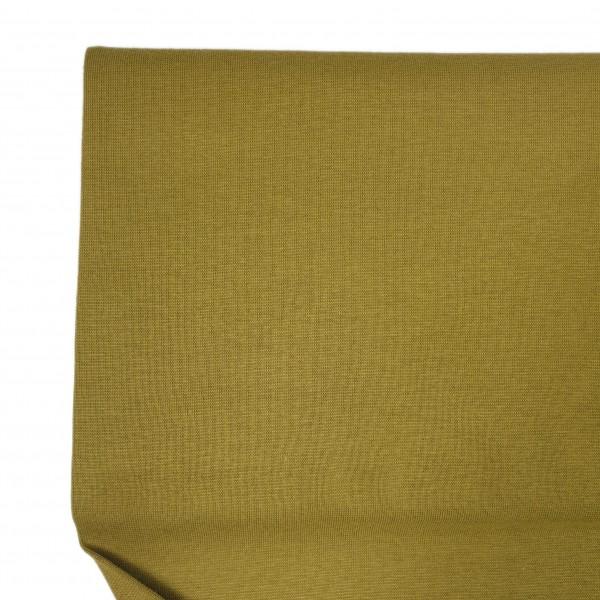 Stoffe/Basics/Bündchen Uni/Schlauchbd., moosgrün, glatt Bild 1