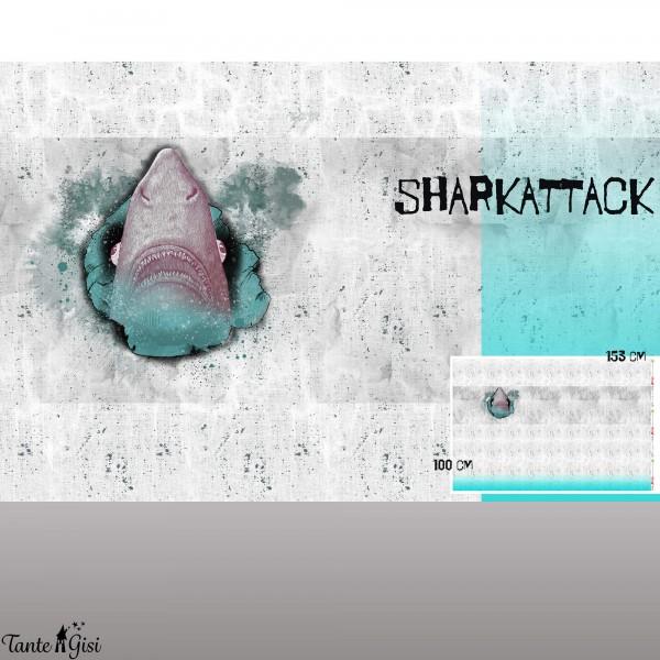 Stoffe/Designer/Tante Gisi/Sharkattack Bild 1