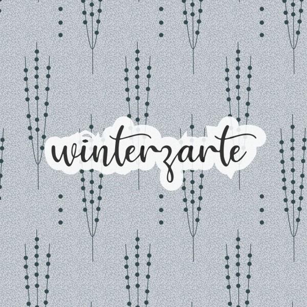 Fabrics/Designers/et voilà/Winterzarte, grau Bild 1
