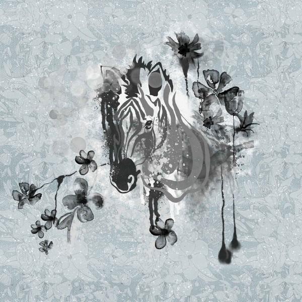 Stoffe/Designer/Tante Gisi/Zebra Bild 1