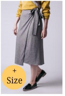 Schnittmuster/Named/04-103 - Schnittmuster/Pattern Tierra Wrap Skirt Bild 1