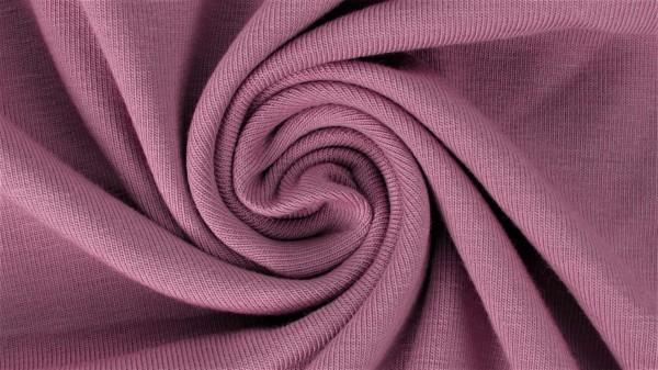 Fabrics/Basics/Solid Sweat/Summersweat Brushed, altrosa Bild 1