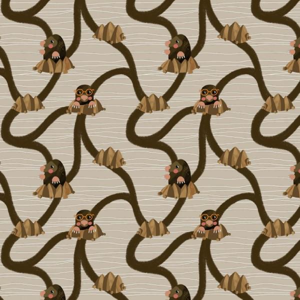 Fabrics/Designers/Enemenemeins/Maulwurfsbau Bild 1